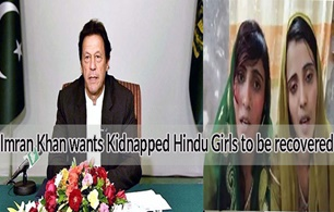 Imran Khan wants Kidnapped Hindu Girls to be Recovered