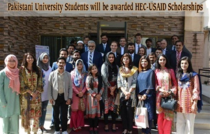 Pakistani University Students will be awarded HEC-USAID Scholarships