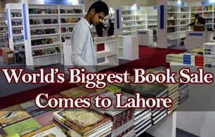 World's Biggest Book Sale Comes to Lahore