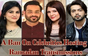 A Ban On Celebrities Hosting Ramadan Transmissions