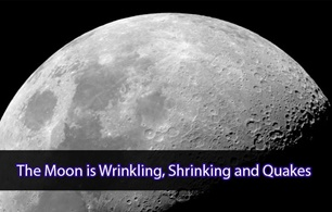The Moon is Wrinkling, Shrinking and Quakes