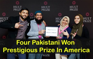 Pakistani students won the Hult Prize Challenge