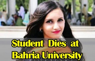 Student dies at Bahria University