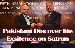 Pakistani astrobiology's discover life existence on Saturn