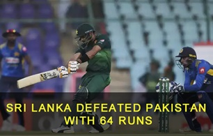 Sri Lanka defeated Pakistan in 1st T20 Series