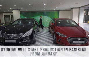 Hyundai will start production in Pakistan from January
