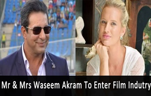 Mr & Mrs Waseem Akram To Enter Film Industry