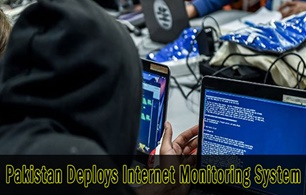 Pakistan deploys Internet Monitoring System!