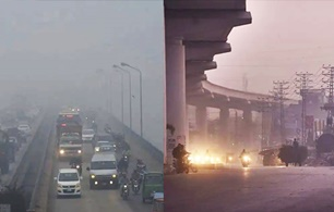 Smog becomes unbearable in Lahore !