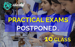 Practical exams of 10th class Punjab Board has been POSTPONED