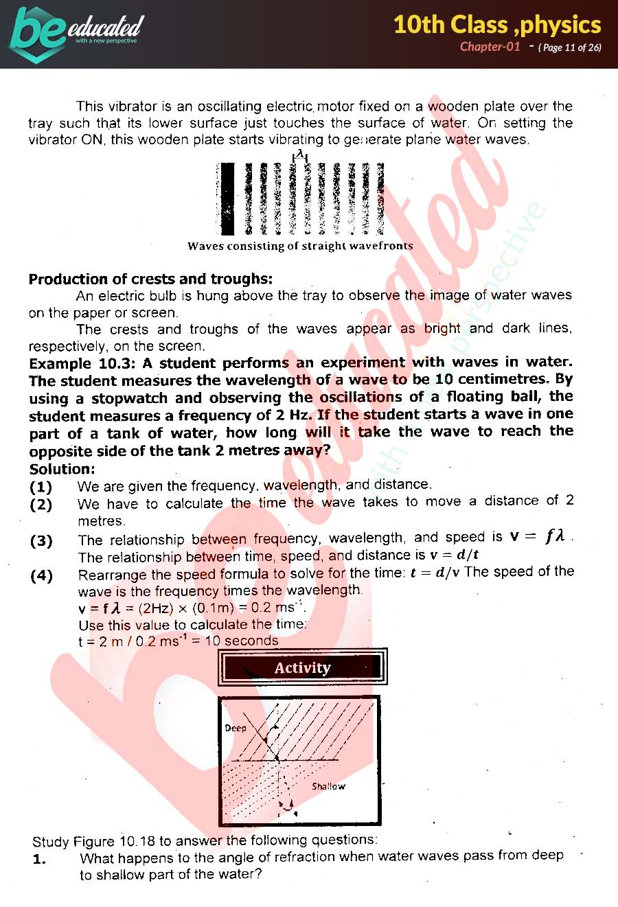 Chapter 1 Physics 10th Class Notes - Matric Part 2 Notes