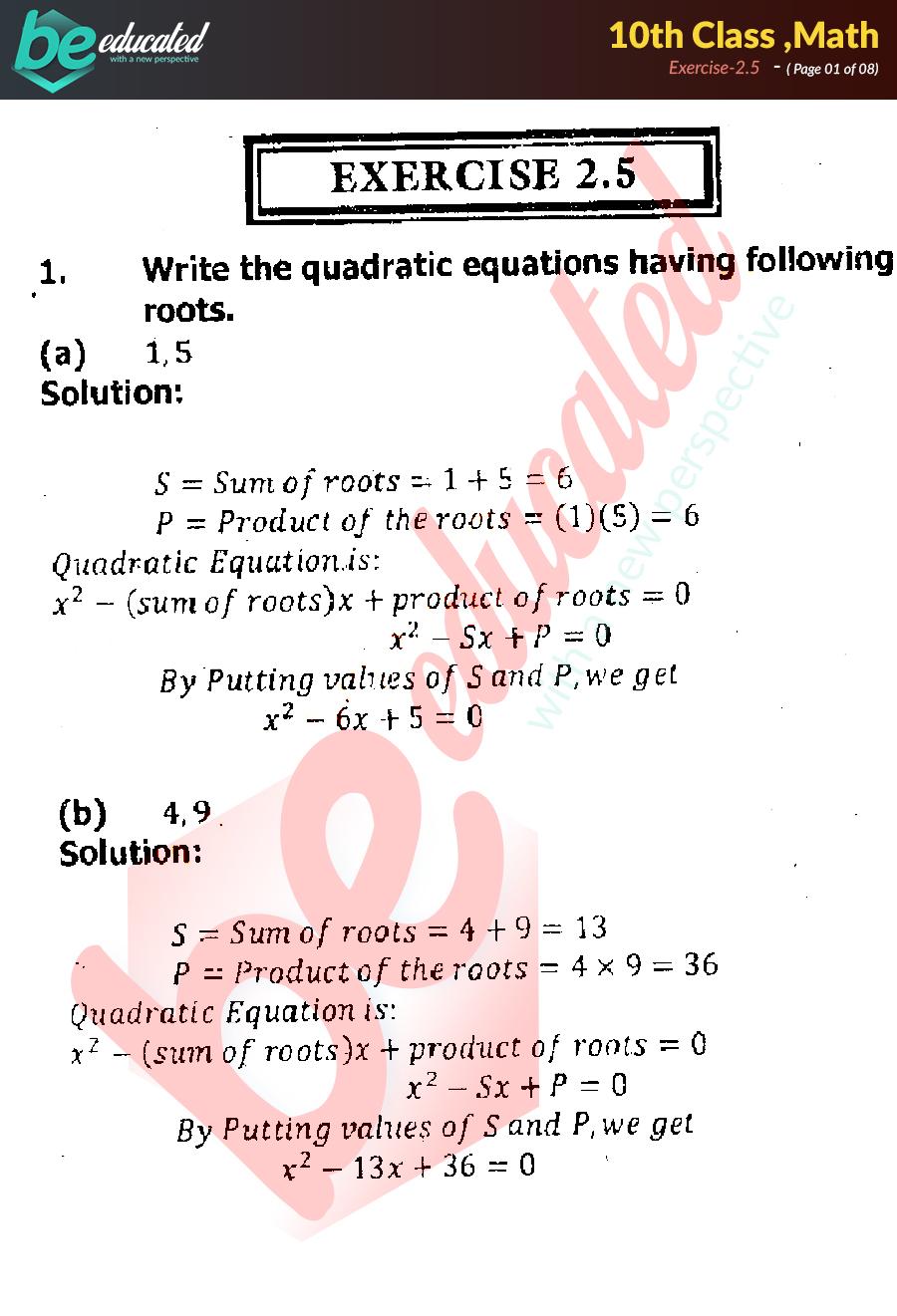 Sindh Textbook Board Jamshoro Mathematics Xi Solutions Pdf