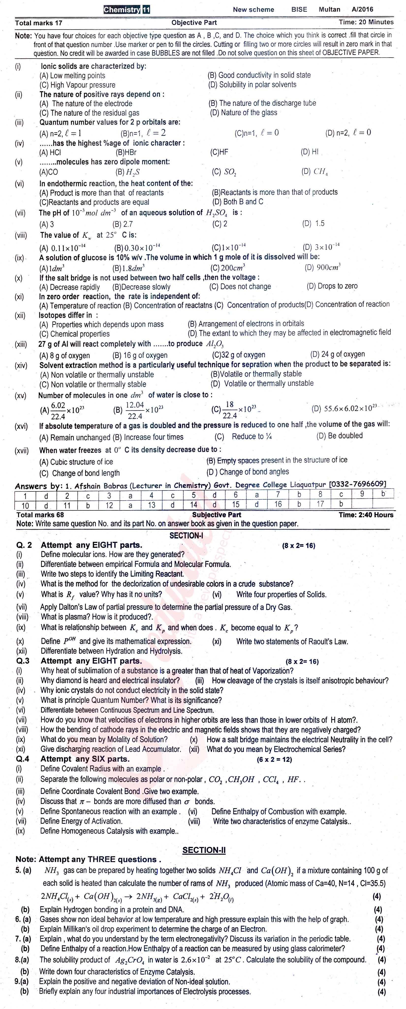chemistry past paper Past papers from the january csec examinations added to download section  highschool in belize city i'm seeking the past paper for chemistry ,biology spanish.