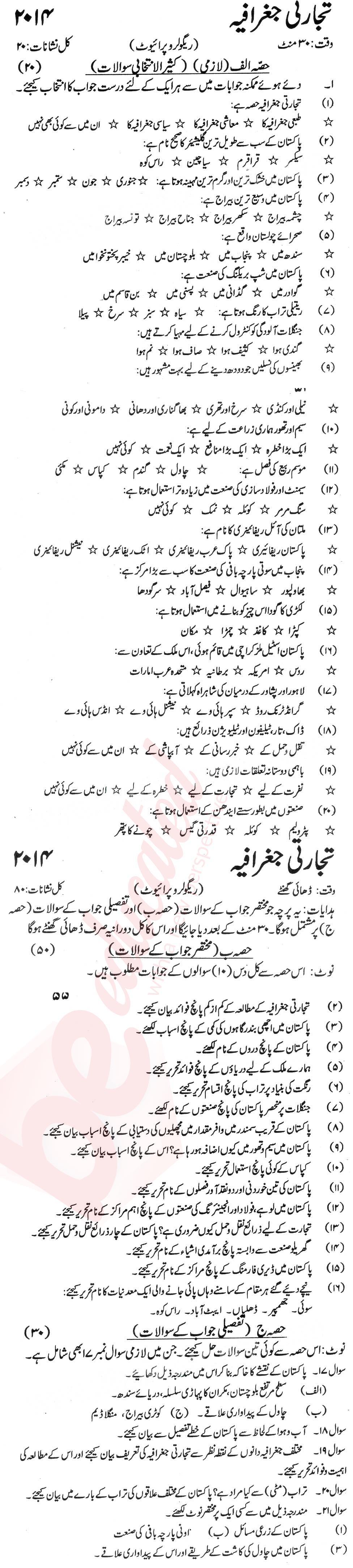 Urdu Medium Notes